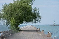The pier at Port Dalhousie, ON. (ekroc101) Tags: ontario scenes portdalhousie