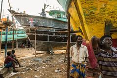 Workers x Watchers (1/4th) Tags: street india boats workers nikon d750 layers nikkor chennai tamilnadu boatyard mending cwc repairwork  royapuram kasimedu  2470mmf28g nikon2470mmf28 chennaiweekendclickers royapuramfishingharbour kasimedufishingharbour  kasimeduharbour workersxwatchers cwc526