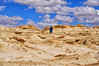 Hiking Bisti (Jim Johnston (OKC)) Tags: newmexico desert hike rockformations 3wisemen bistibadlands ahshislepah