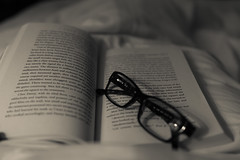 A lovely weekend to all. . . (Irina1010) Tags: book glasses relax weekend reading monochrome canon