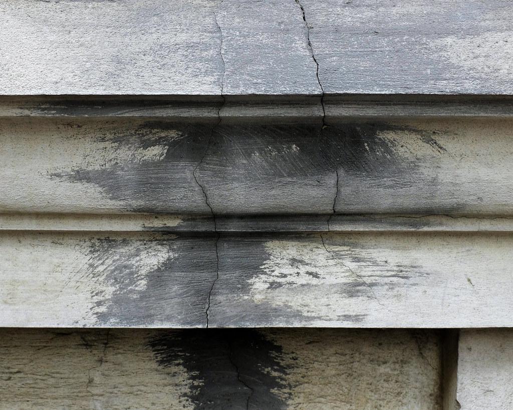 Quantum Mechanics (blinq) Tags: Vienna Wien Abstract Detail Texture Wall  Grey Beige Paint
