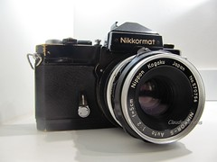 Nikkormat FTn & NIKKOR-S 50mm f/2 (Claudio Arriens) Tags: camera classic photo nikon nikkormat