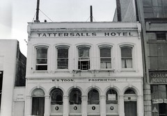 Taettersall's Hotel, Stafford Street, 1967 (Dunedin City Council Archives) Tags: historic dunedin