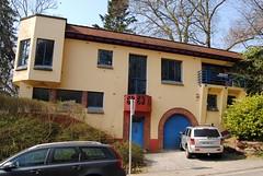 Architectenwoning Henri Lacoste, Oudergem (Erf-goed.be) Tags: geotagged villa brussel archeonet architectenwoning oudergem geo:lon=44335 geo:lat=508047 henrilacoste