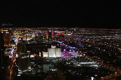 LAS VEGAS!!! (tiz.zeta) Tags: city las vegas panorama usa look night america lights hotel town luci notte stratosphere citt