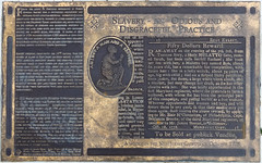 Slavery - An Odious and Disgraceful Practice - Trenton NJ (Blake Bolinger) Tags: bronze plaque newjersey nj historic marker historical slavery mercercounty trenton
