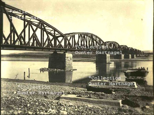 Karkamış / Jerablus, German railway bridge over the Euphrates river