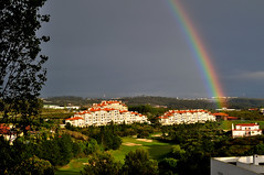 Belas Clube de Campo (Turist of the World) Tags: portugal arcoiris golf de rainbow lisboa campo clube bcc belas golfe