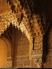 The Hall of the Muqarnas at Alhambra Palace 02    / Granada / Spain - 27.03.2012 (Ahmed Al.Badawy) Tags: thehallofthemuqarnasatalhambrapalace02granadaspain hutectshotsahmedalbadawy