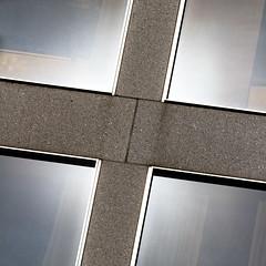 natural tetraptych (MyArtistSoul) Tags: sanfrancisco ca trip windows urban sun reflection monochrome square four glare x minimal unionsquare zeni 5084 70200mmf4lis
