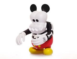 CLOT x Disney x MindStyle x Bounty Hunter 的Skull Kun Mickey