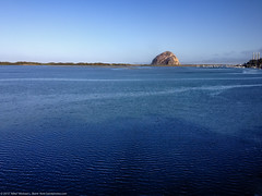 Morro Rock from the Museum of Natural History