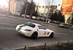 Y U NO Show up! (U-J Photography) Tags: road power low serbia fast turbo german mercedesbenz belgrade gt rims tuning limited supercar v8 taillight sls amg streetrace nurburgring