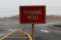Thank you (Avard Woolaver) Tags: life light canada colour topf25 rain sign fog photo spring parkinglot flickr novascotia message thankyou image pavement communication creativecommons canondslr timhortons springtime 2012 digitalimage hrm easternpassage williameggleston contemporarylandscape sociallandscape apr25 topf25faves canoneos60d contemporaryandconceptualphotography avardwoolaver avardwoolaverphoto
