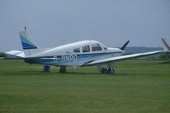 G-BNPO ~ 2009-05-04 @ Cranfield (CVT-wings) Tags: airplane aviation airplanepictures generalaviation airplanephotos piperarcher egtc pa28181 aircraftpictures cranfieldairport 04052009 aircraftpix cvtwings davelenton gbnpo