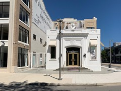 Buena Vista Post Office Design District Early 1920s (Phillip Pessar) Tags: historic florida miami architecture building vintage digital thrift store find 2 megapixel kodak easyshare cx6200 post office design district