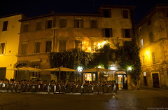 """La piazza, in una notte d'estate • <a style=""""font-size:0.8em;"""" href=""""http://www.flickr.com/photos/89679026@N00/7420902540/"""" target=""""_blank"""">View on Flickr</a>"""