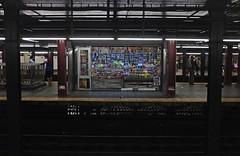 Subway (Thomas Hole) Tags: nyc ny newyork man thanks underground subway lowlight alone fuji hole explore f2 pennstation saler candit x100 explorefrontpage thomashole