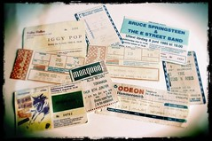 Concert tickets (Palllew) Tags: roses cats iggy stones bruce pop stray guns mode depeche gunsnroses rolling springsteen