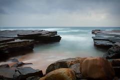 Dreams (mezuni) Tags: ocean sea beach clouds landscape rocks australia newsouthwales oceans seas warriewood turimetta
