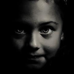Dépouillement (Christine Lebrasseur) Tags: portrait people blackandwhite france art 6x6 canon child fr onblack gironde 500x500 ltytrx5 saintloubes allrightsreservedchristinelebrasseur