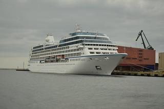 MS Nautica in Gdynia harbour