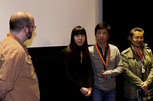 Here, Then Q&A with James Rice, Mao Mao, Yue Ding and Lidan Hu