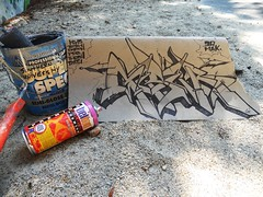 Black & Cardboard (GESER 3A) Tags: money metal graffiti sketch weed punk flickr boobs explore chrome crew drugs guns hiphop straightedge knives bats belton kem ges molotow kems kemr geser asuem