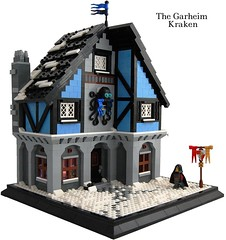 The Garheim Kraken (LCC) (Invicta Bricks) Tags: snow pub inn lego thomas tavern lcc arrowford garheim