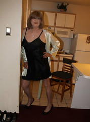 new49243-IMG_1510t (Misscherieamor) Tags: kitchen tv feminine cd motel tgirl transgender mature sissy tranny transvestite slip kimono satin crossdress ts gurl tg travestis travesti travestie m2f xdresser tgurl