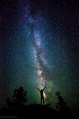 self portrait with the milky way in great basin national park (tmo-photo) Tags: park blue trees sky usa nature silhouette mystery night forest dark way stars dawn evening shiny long exposure heaven glow shine time dusk infinity space horizon nevada great deep twinkle astro basin sparkle galaxy national astrophotography stunning planet astronomy universe exploration incredible milky cosmic starry cosmos astrology distant milkyway starlight starrynightsky