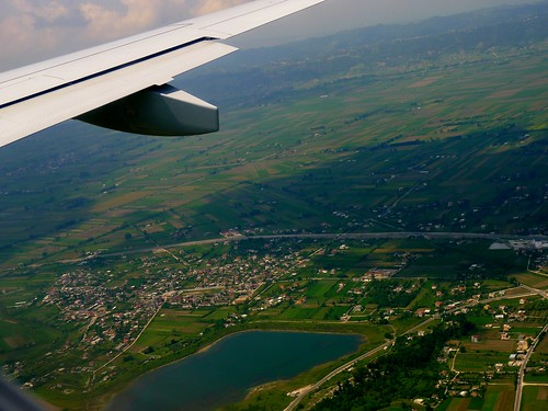 Arriving in Albania