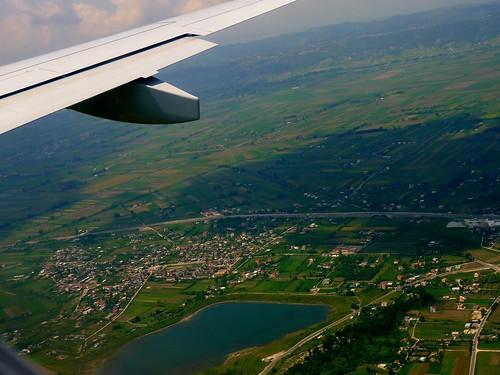 Arriving in Albania