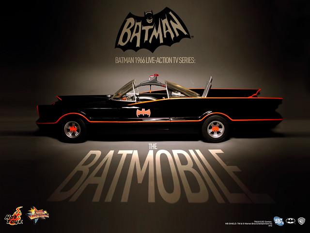 Hot Toys - 1966年經典影集版蝙蝠車