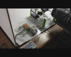 R/C automated macro rail. (StevieD70) Tags: macro focus rail stack automated diyphotography stevied70