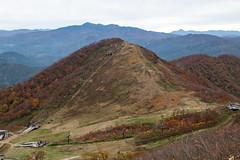 IMG_8159 (Amad) Tags: blue autumn brown mountain fall japan mount gunma   canon30d     mounttanigawa