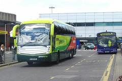 Arriva The Shires 4201 FJ08 KMG Scania K340/Levante (DD67773) Tags: green classic ex airport july 15 line luton 2012 the arriva shires kmg 4201 fj08