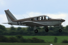 2012-06-30-008FD G-BWNM (BringBackEGDG) Tags: duxford flyinglegends piper pa28r180 cherokee arrow gbwnm