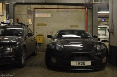 Vanquish S: Soon to be history...Timeless classic or just another Aston? (ImZaidHamid) Tags: black london reflections martin s carpark mayfair aston v12 vanquish worldcars