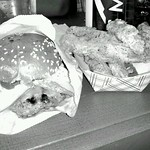 "Standard Burger & Fried Pickles <a style=""margin-left:10px; font-size:0.8em;"" href=""http://www.flickr.com/photos/14315427@N00/7589299906/"" target=""_blank"">@flickr</a>"