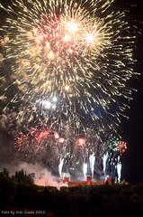 Assedio al Castello di Gradara (Niki Giada) Tags: italy castle nikon italia nightscape fireworks medieval assault castello paesaggi pesaro medioevo fuochi gradara assalto dartificio d7000