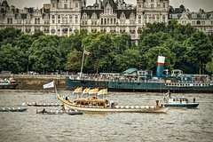 The Glorianna With The Olympic Flame (violinconcertono3) Tags: london westminster thames landscapes flickr fineart cityscapes olympics fineartphotography davidhenderson london2012 olympictorch londonist glorianna fineartphotographer londonphotographer 19sixty3 19sixty3com