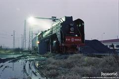 2011/12/4 QJ6652 Xian (Pocahontas®) Tags: railroad film train kodak engine rail railway steam locomotive gold200 2102 135film qj6652