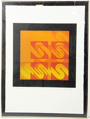 "2062. ""Emission Spectrum 2"" Lithograph"