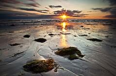 TraethAberdesach1 (aled owen) Tags: sunset sun beach water wales canon landscape seaside cymru dwr haul gwynedd traeth machlud arfordir tirlun 5dmk2