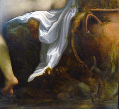 Correggio, Jupiter and Io, detail with urn