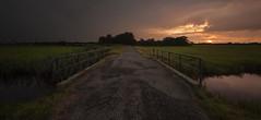 No bridge to far... (Martijn ) Tags: bridge sky sun zonsondergang brug lucht zon setset