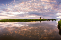 IMG_4837-Edit (ryandavies1990) Tags: sunset windmill clouds tranquil windpump norfolkbroads canon1755mm nd110 riverthurne stbenetslevelmill stbenets bwndfilter canon7d rdavies