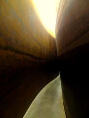 """""""The Matter of Time"""", Richard Serra, Bilbao (blafond) Tags: sculpture art arte path kunst curves curvy bilbao serra chemin richardserra courbes thematteroftime"""