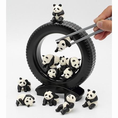 療癒妙方!夾熊貓,堆高高!